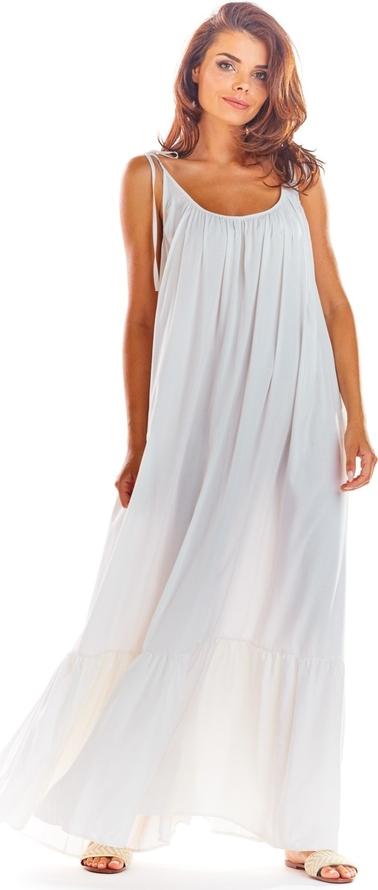 Sukienka Awama z tkaniny maxi oversize