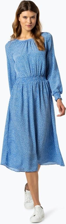 Sukienka Aygill`s z okrągłym dekoltem w stylu casual z długim rękawem
