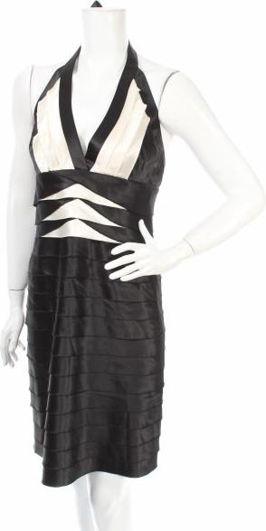 Sukienka Bcbg Max Azria z dekoltem w kształcie litery v