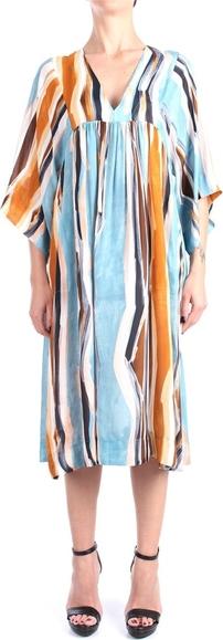 Sukienka Beatrice .b z długim rękawem dla puszystych