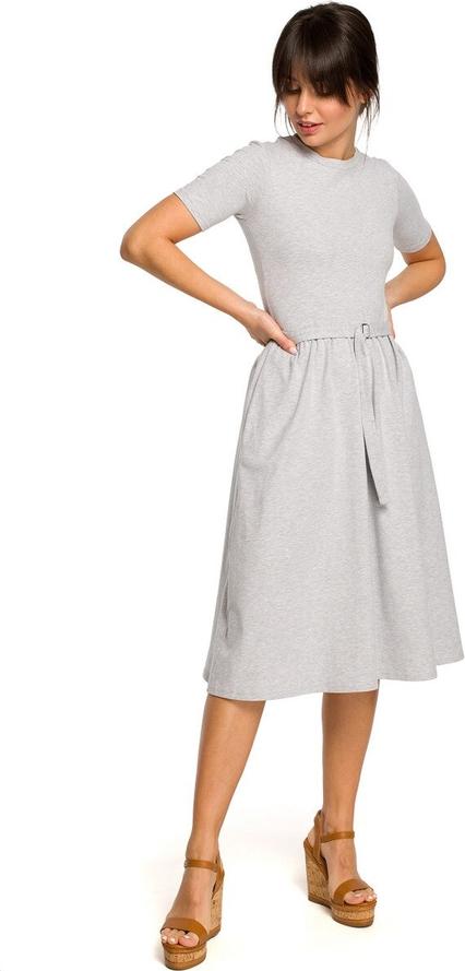 Sukienka BeWear z krótkim rękawem w stylu casual