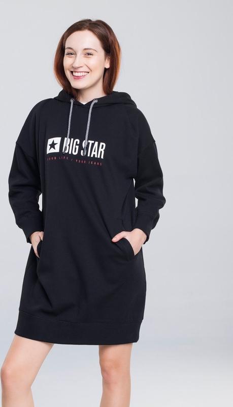 Sukienka Big Star z długim rękawem mini w stylu casual