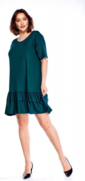 gorąca wyprzedaż w 2019 roku Sukienka Bomo Moda z okrągłym dekoltem z krÓtkim rękawem Odzież Damskie Sukienki XC JAJAXC-7