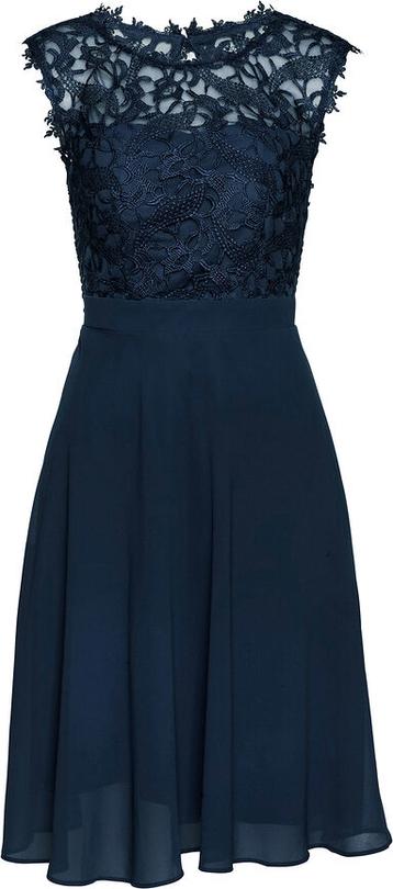 Sukienka bonprix bez rękawów