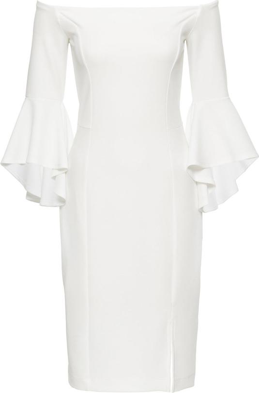 Sukienka bonprix bodyflirt boutique na sylwestra bez wzorów
