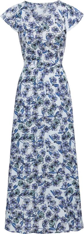 Sukienka bonprix BODYFLIRT w stylu casual z krótkim rękawem maxi
