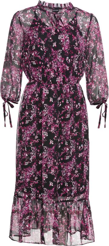 Sukienka bonprix BODYFLIRT z długim rękawem