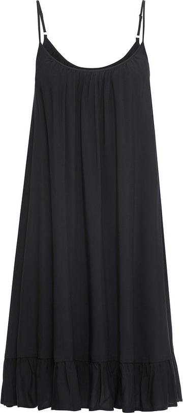 Sukienka bonprix BODYFLIRT z okrągłym dekoltem na ramiączkach w stylu casual