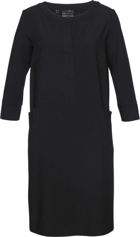 Sukienka bonprix bpc selection z okrągłym dekoltem