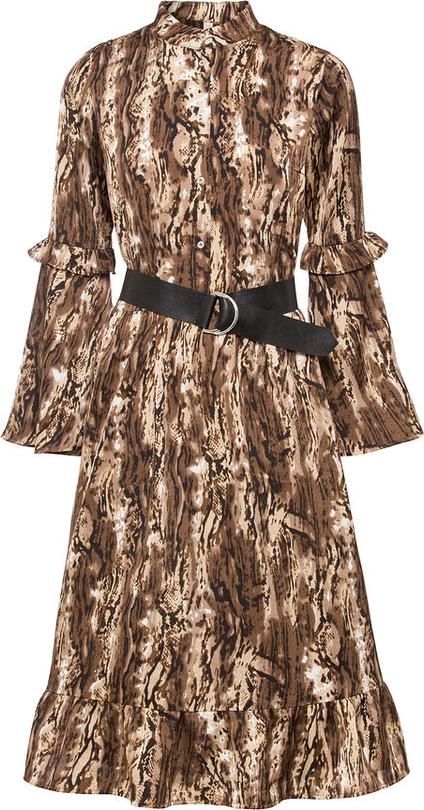 Sukienka bonprix koszulowa mini