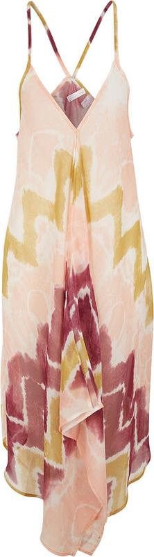 Sukienka bonprix na ramiączkach z dekoltem w kształcie litery v