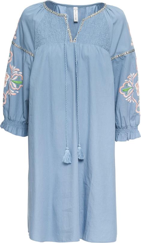 Sukienka bonprix RAINBOW z długim rękawem