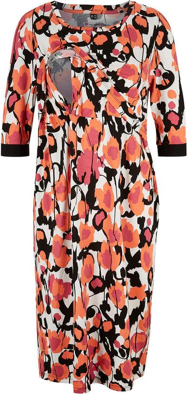 Sukienka bonprix w stylu casual z długim rękawem z okrągłym dekoltem