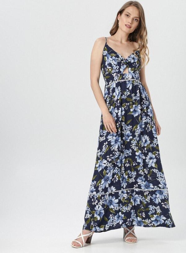 Sukienka born2be maxi na ramiączkach