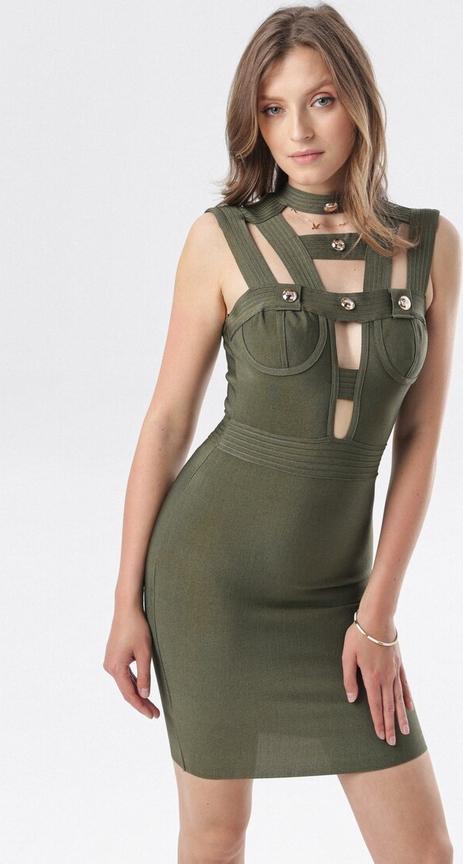 Sukienka born2be na ramiączkach mini