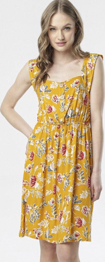 Sukienka born2be na ramiączkach mini rozkloszowana