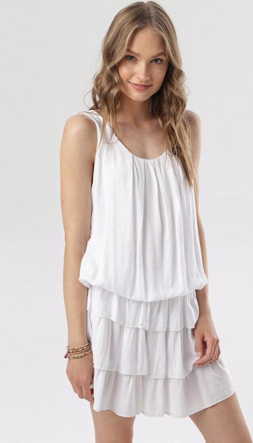 Sukienka born2be na ramiączkach w stylu casual mini