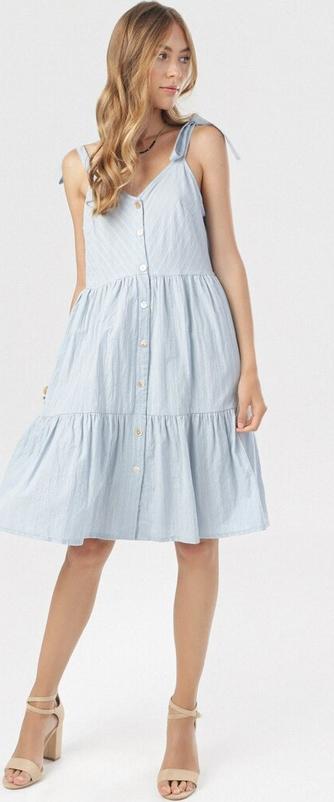 Sukienka born2be trapezowa