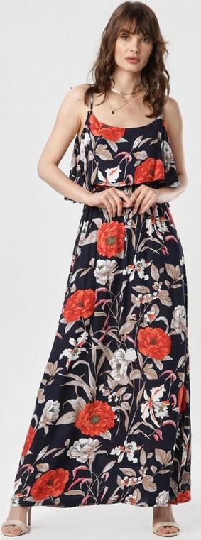 Sukienka born2be w stylu boho na ramiączkach maxi