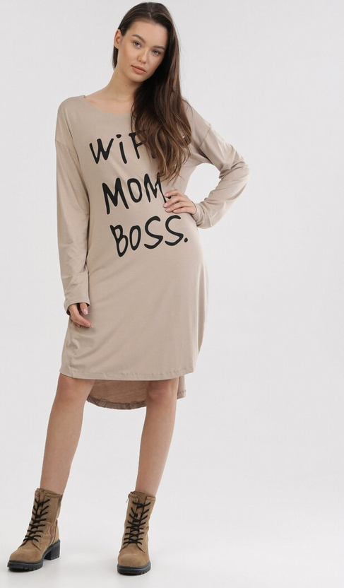 Sukienka born2be w stylu casual