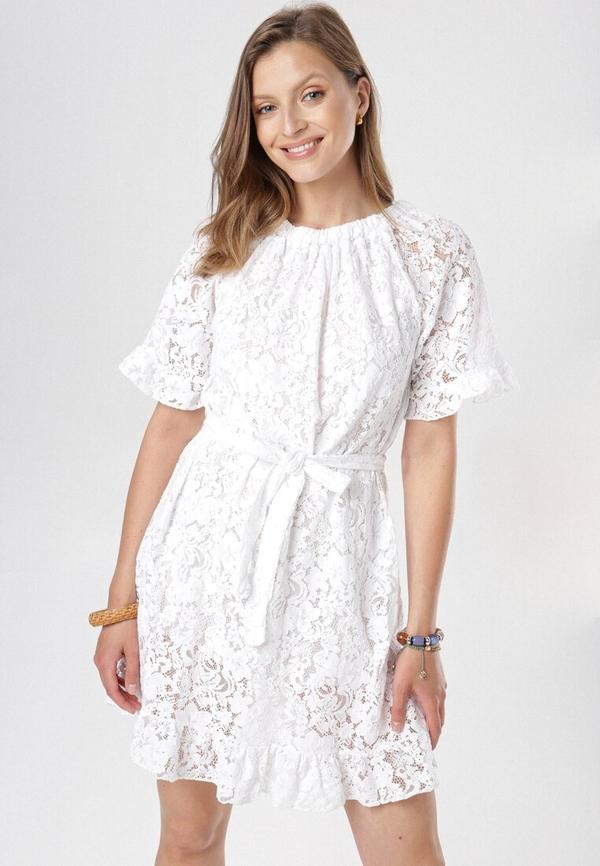 Sukienka born2be w stylu casual trapezowa mini