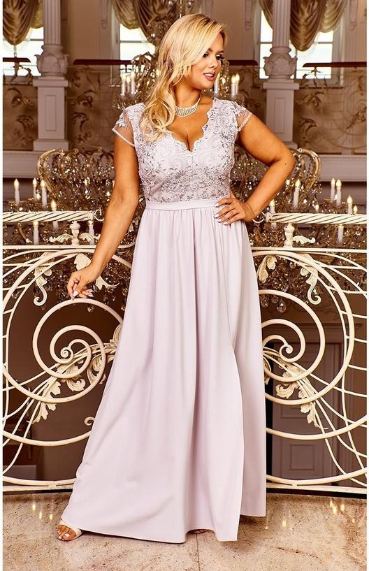 Sukienka Bosca maxi z dekoltem w kształcie litery v