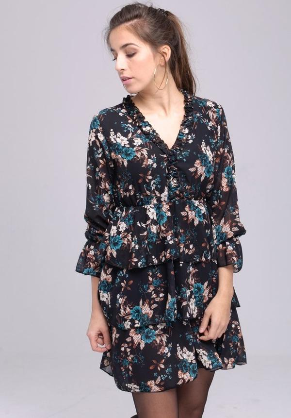 Sukienka Butik Ecru mini w stylu casual