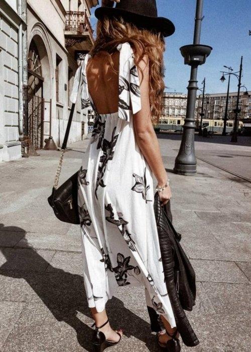 Sukienka butiklatika.pl w stylu boho oversize