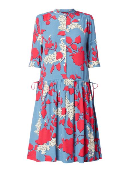 Sukienka Calvin Klein mini w stylu casual