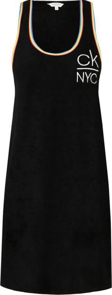 Sukienka Calvin Klein z okrągłym dekoltem