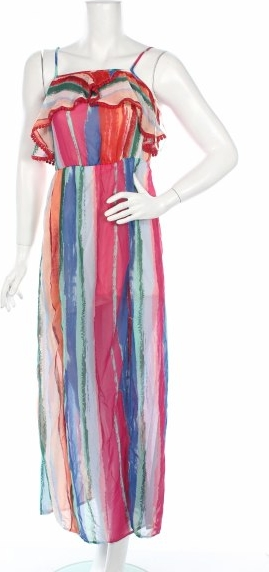Sukienka Candie`s na ramiączkach maxi