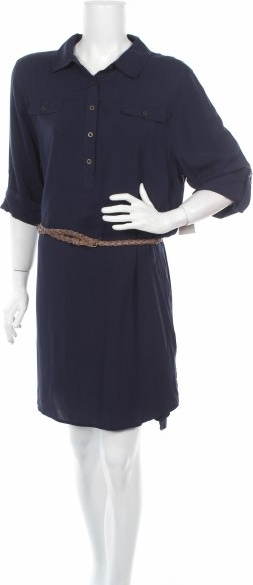 Sukienka Canyon River Blues z długim rękawem
