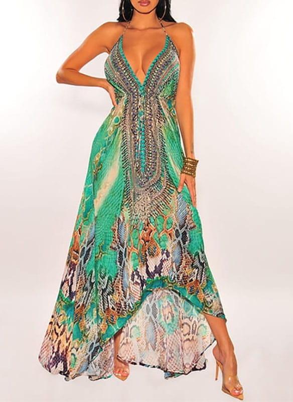 Sukienka Cikelly z odkrytymi ramionami