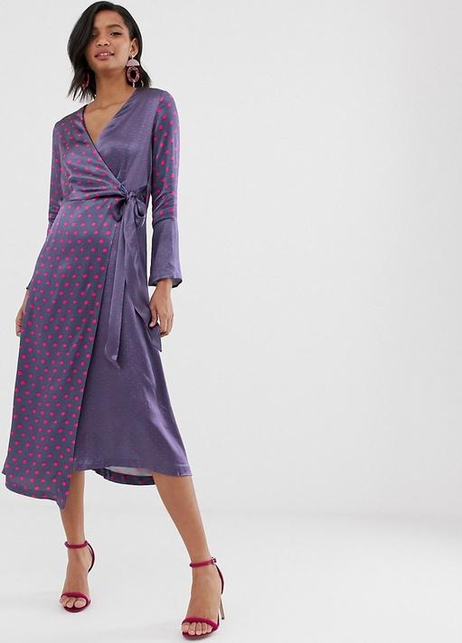 Sukienka Closet z długim rękawem