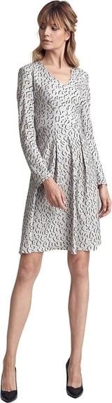 Sukienka Colett mini z długim rękawem