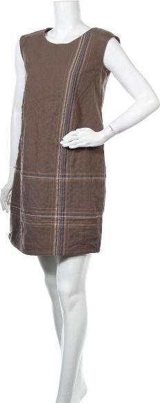 Sukienka Colline bez rękawów z okrągłym dekoltem w stylu casual