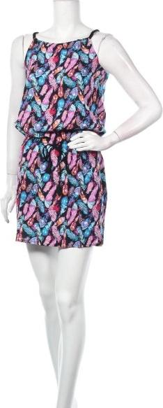 Sukienka Coton Du Monde z okrągłym dekoltem mini