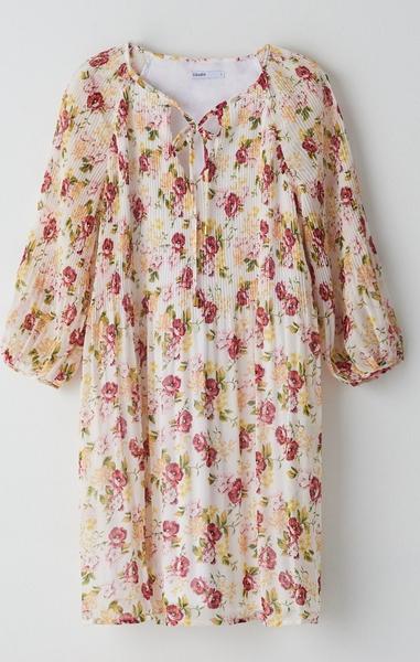 Sukienka Cropp prosta mini z szyfonu