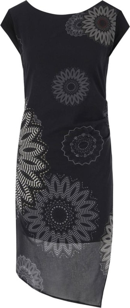 Sukienka Desigual z okrągłym dekoltem bez rękawów
