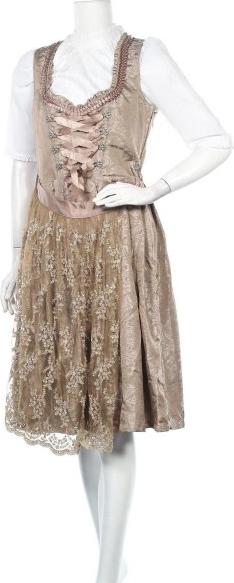 Sukienka Dirndlalm z dekoltem w kształcie litery v