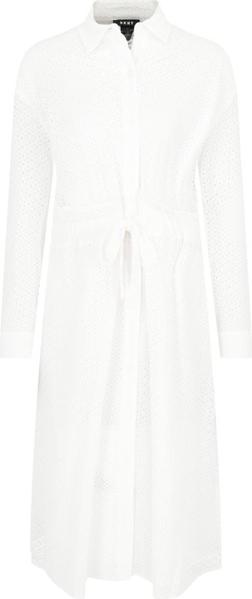 Sukienka DKNY w stylu casual mini z długim rękawem