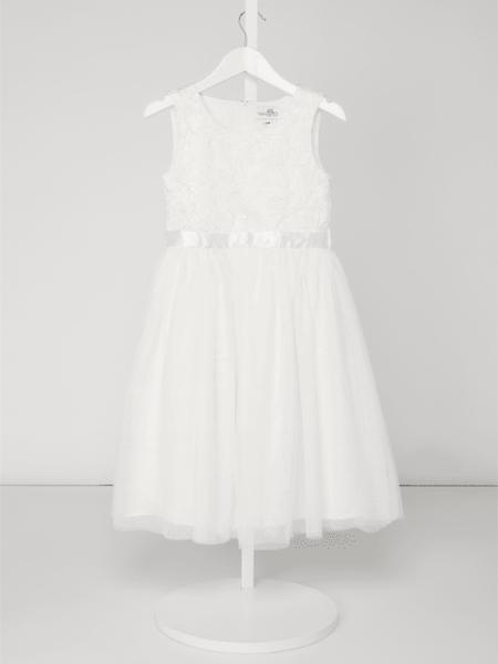 Sukienka dziewczęca Eisend z tiulu