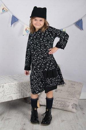 Sukienka dziewczęca Meleksima z bawełny
