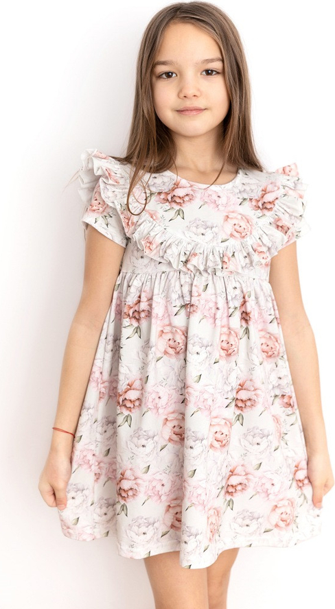 Sukienka dziewczęca Myprincess.pl w kwiatki