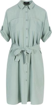 Sukienka ECHO w stylu casual z krótkim rękawem mini