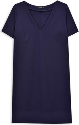 Sukienka ECHO z dekoltem w kształcie litery v z krótkim rękawem