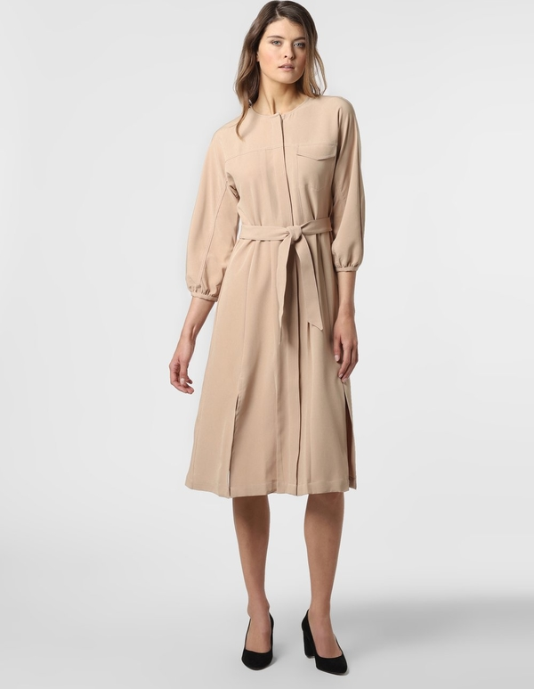 Sukienka EDITED midi w stylu casual z długim rękawem