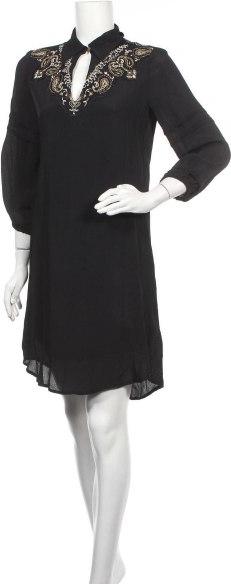 Sukienka Eksept prosta mini z długim rękawem