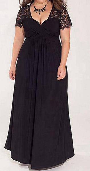 Sukienka Elegrina maxi z bawełny z krótkim rękawem