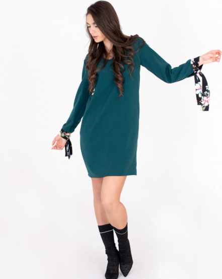 Sukienka ELEONORA PORTERA z długim rękawem
